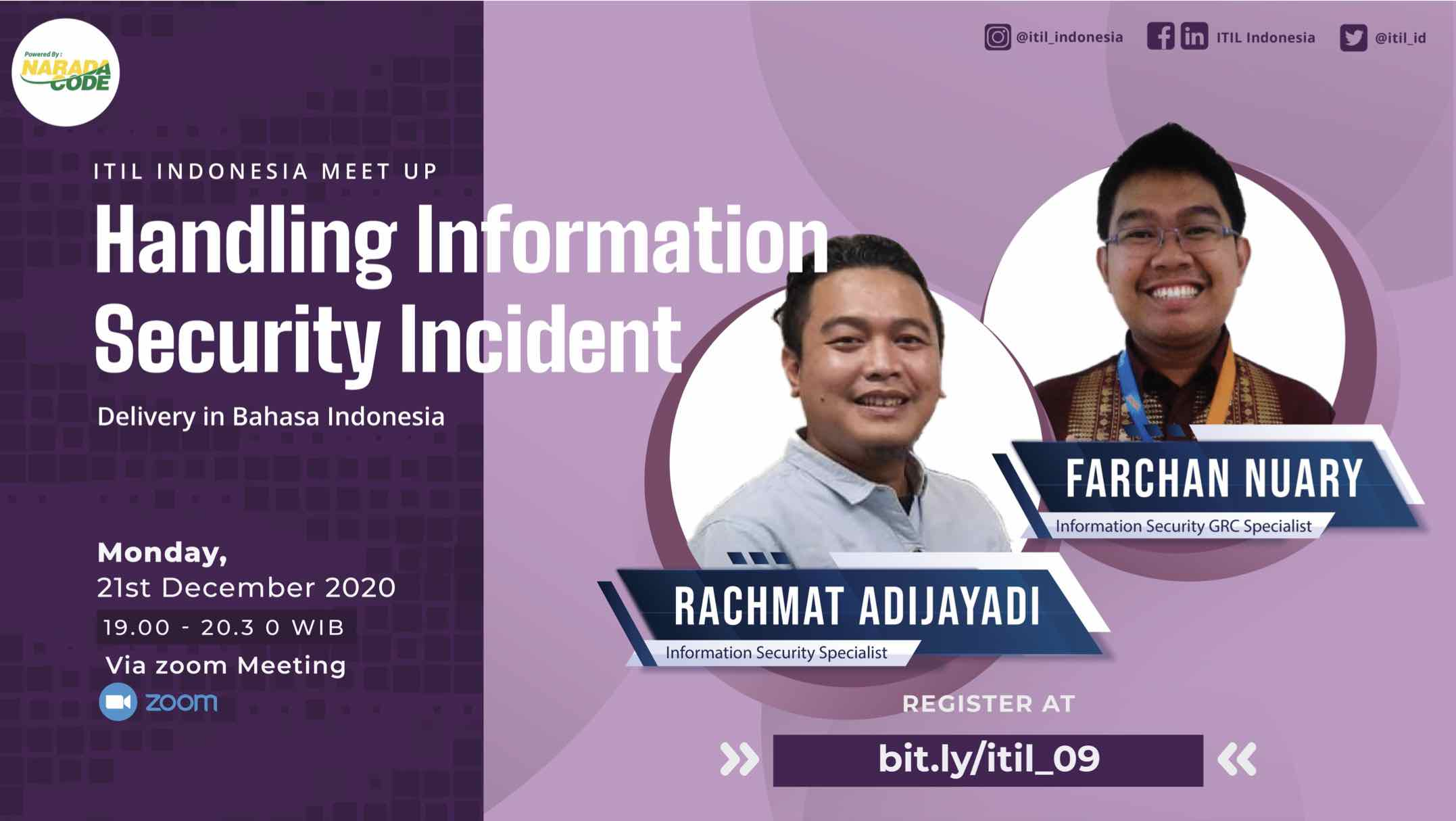 ITIL Indonesia Meetup Cover